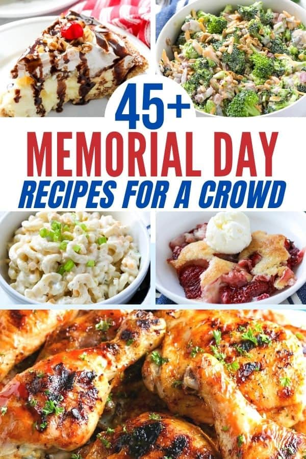 round up of memorial day food recipes photo