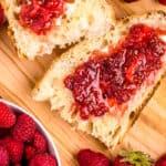 Crockpot Strawberry Raspberry Jam