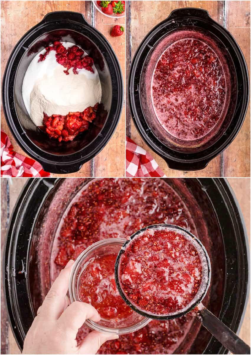 crock pot jam photo steps