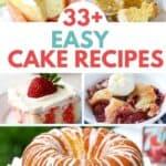33+ Easy Cake Recipes