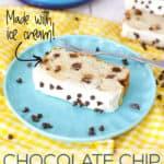 Chocolate Chip Ice Cream Bread
