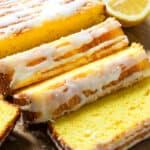 Lemon Pound Cake Recipe (Box Cake Mix Starbucks Copycat)