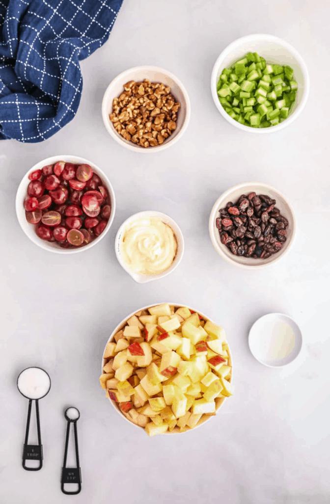 ingredients needed for waldorf salad