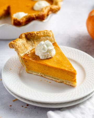 Easy Pumpkin Pie from Scratch